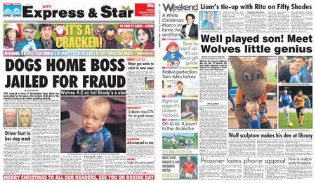 Express and Star City Edition – December 23, 2017