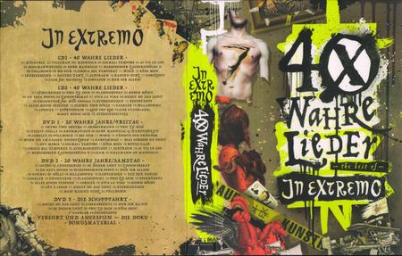 In Extremo - 40 Wahre Lieder: The Best Of (2017) [2CD + 3DVD Box Set]