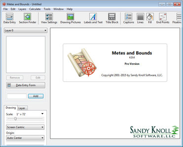 Sandy Knoll Software Metes and Bounds Pro 5.5.1