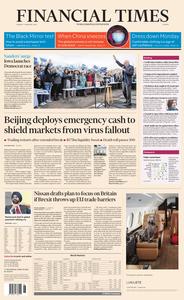 Financial Times Europe – 03 February 2020