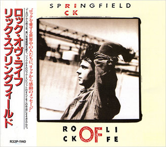 Rick Springfield - Rock Of Life (1988) Japanese Press [Re-Up]