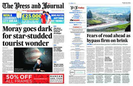 The Press and Journal Moray – January 15, 2018