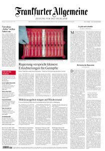 Frankfurter Allgemeine Zeitung - 27 April 2021