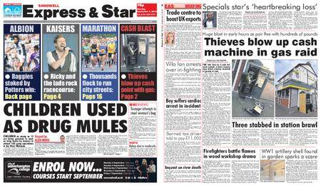Express and Star Sandwell Edition – September 03, 2018