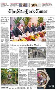 International New York Times - 12 June 2018
