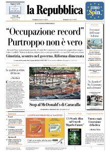 la Repubblica - 1 Agosto 2019