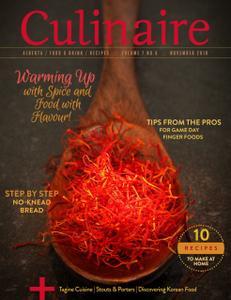 Culinaire Magazine - November 2018