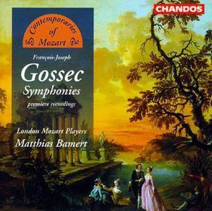 Matthias Bamert, London Mozart Players -  François-Joseph Gossec: Symphonies (1998)