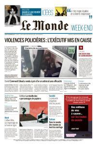 Le Monde du Samedi 28 Novembre 2020