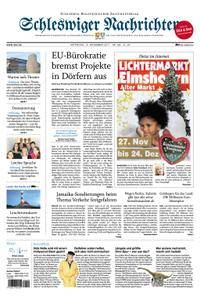 Schleswiger Nachrichten - 15. November 2017