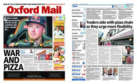 Oxford Mail – August 24, 2017