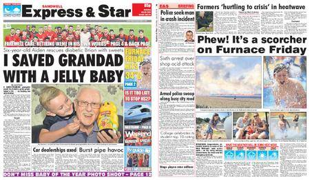 Express and Star Sandwell Edition – July 28, 2018