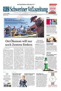 Schweriner Volkszeitung Hagenower Kreisblatt - 03. August 2019