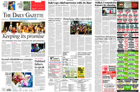 The Daily Gazette – October 07, 2019