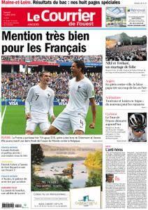 Le Courrier de l'Ouest Angers - 07 juillet 2018