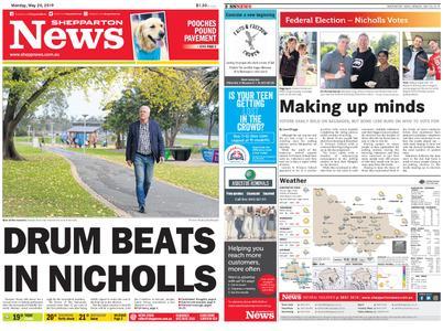 Shepparton News – May 20, 2019