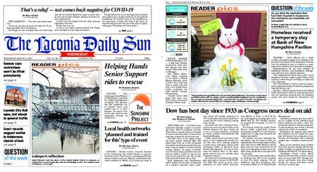 The Laconia Daily Sun – March 25, 2020