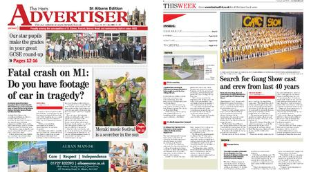 The Herts Advertiser – August 29, 2019