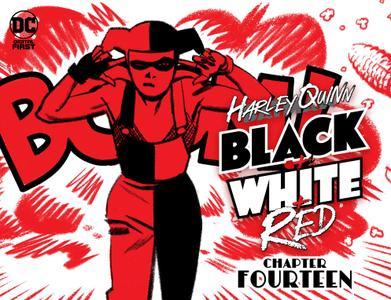 Harley Quinn Black + White + Red 014 2020 digital Son of Ultron