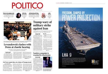 Politico – September 18, 2019