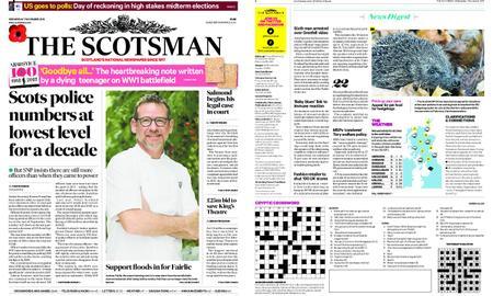 The Scotsman – November 07, 2018