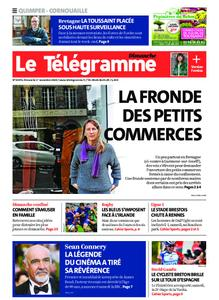 Le Télégramme Ouest Cornouaille – 01 novembre 2020