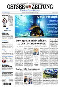 Ostsee Zeitung Wolgast - 11. Juli 2018