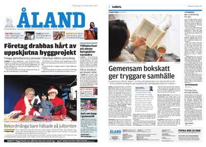 Ålandstidningen – 20 november 2017