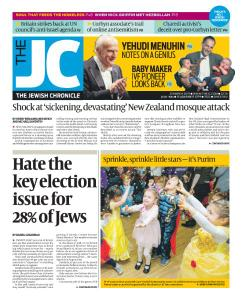 The Jewish Chronicle - March 21, 2019