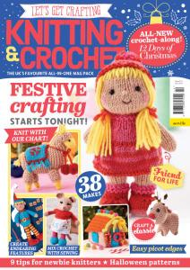 Let's Get Crafting Knitting & Crochet - Issue 114 - August 2019