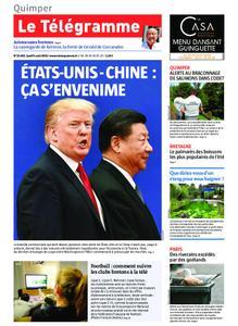 Le Télégramme Quimper – 08 août 2019
