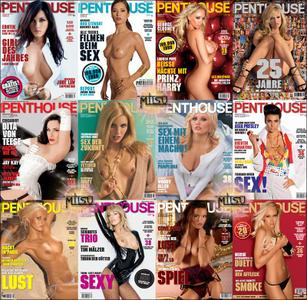 Penthouse Germany - Full Year 2007 Issues Collection