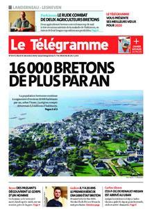 Le Télégramme Landerneau - Lesneven – 31 décembre 2019