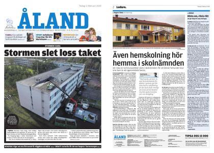 Ålandstidningen – 11 februari 2020