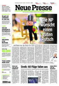 Neue Presse – 31. Dezember 2019