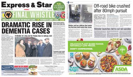 Express and Star Sandwell Edition – January 20, 2020