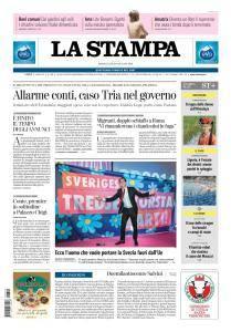 La Stampa Torino Provincia e Canavese - 20 Giugno 2018