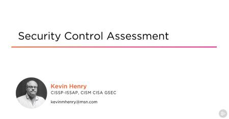 Security Control Assessment