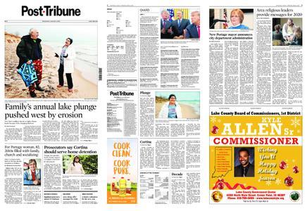 Post-Tribune – January 01, 2020