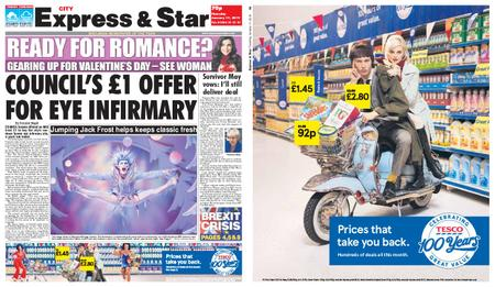Express and Star City Edition – January 17, 2019