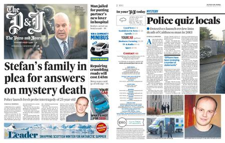 The Press and Journal Moray – January 22, 2020