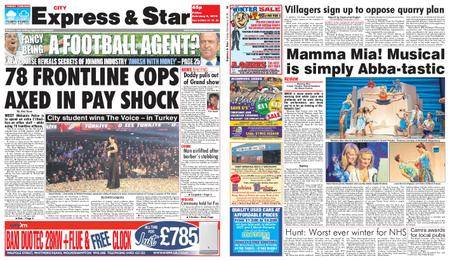 Express and Star City Edition – February 09, 2018