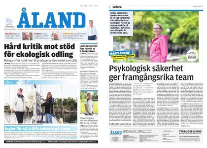 Ålandstidningen – 18 juli 2019
