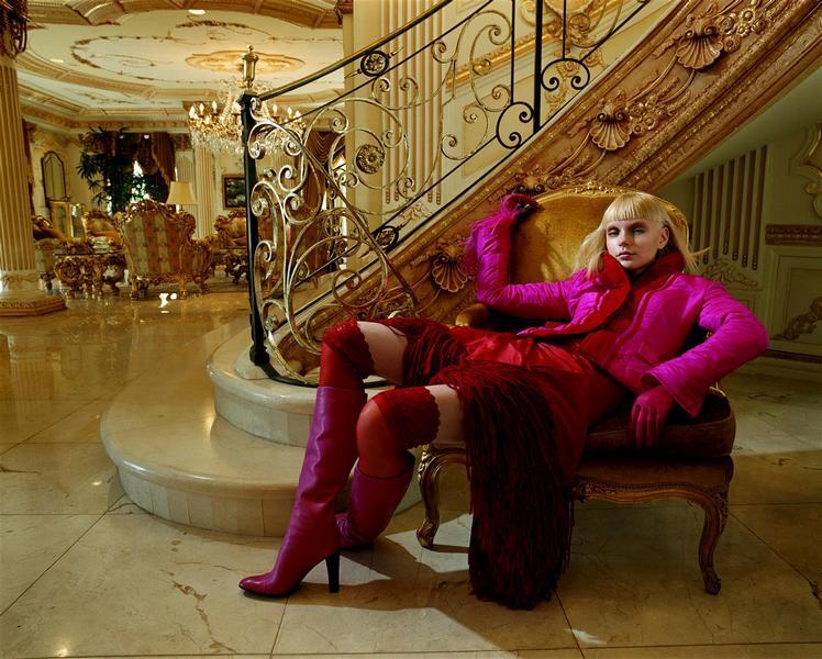 Jessica Stam - Corinne Day Photoshoot 2007