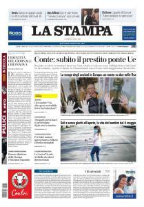 La Stampa Imperia e Sanremo - 24 Aprile 2020