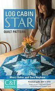 Log Cabin Star Quilt Pattern (repost)