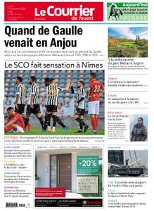 Le Courrier de l'Ouest Angers – 09 novembre 2020