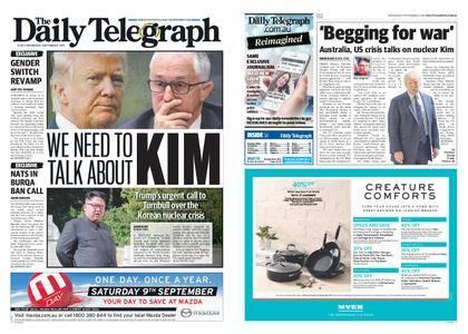 The Daily Telegraph (Sydney) – September 06, 2017