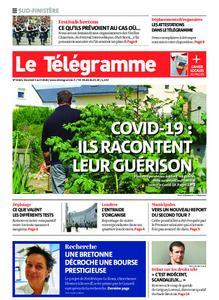 Le Télégramme Quimper – 03 avril 2020