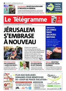 Le Télégramme Ouest Cornouaille – 11 mai 2021